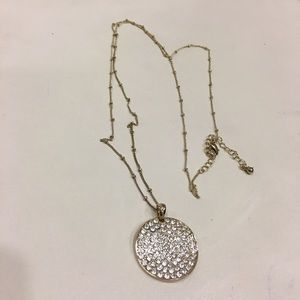 Jewelry - Crystal coin necklace